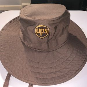 Other - Ups wide brim hat